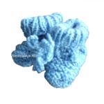 neomaatje prematuur babysokje licht blauw